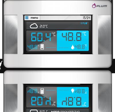 Pokojový termostat ecoTOUCH